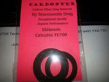 1 Set Carbontex Drag Washers for Shimano Calcutta TE700 CTE700