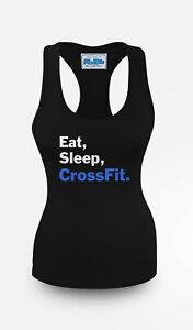 CROSSFIT quote Gym Vest Women Racerback Workout Vest Sports Top Clothes