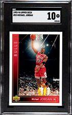 1993-94 Upper Deck Michael Jordan #23 Chicago Bulls SGC 10
