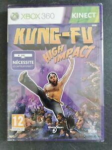Kung Fu High Impact XBOX360 neuf sous blister d'origine