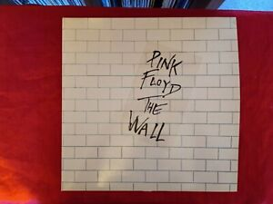 PINK FLOYD-THE WALL-UK HARVEST DOUBLE REISSUE LP + INNERS
