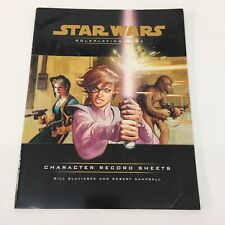 Star Wars Roleplaying Rpg Character Record Sheets Wizards Of The Coast