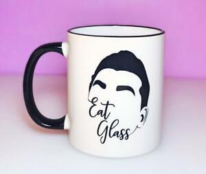 David Rose Eat Glass Moira Rose Coffee Mug Schitt's Creek Gift Ew David Alexis