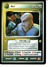 STAR TREK CCG RULES OF ACQUISITION RARE CARD MORN
