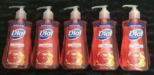 Lot Of 5 - DIAL COMPLETE Liquid Hand Soap POMEGRANATE TANGERINE 7.5 Oz. PRIORITY