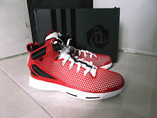 NEW ADIDAS D ROSE 6 BOOST  MEN'S   ATHLETIC SHOES SIZE 9  RED   F37129