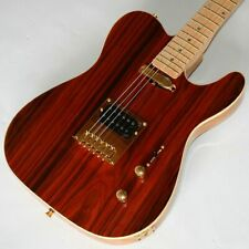 E-Gitarre, Telematik, Yellow Rosewood, Humbucker, Matching Head, Gold Hardw, G66