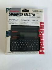 Franklin Language Master Lm-2200 Dictionary Thesaurus Synonyms Words New