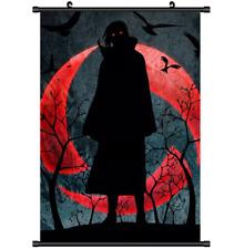 Anime Naruto Sasuke Itachi Wall Scroll Poster cosplay s3280