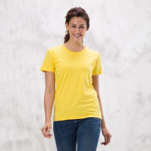 SOGNA Women's Slim T-Shirt 100%  Ring Spun Cotton Basic Ladies Tee