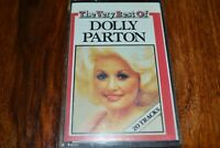 DOLLY PARTON    THE VERY BEST OF         CASSETTE TAPE  ALBUM     RCA  RCAK 5052