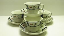 "Adams ""Lancaster""  Coffee Cups and Saucers Set of 4 EC"