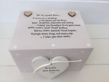 Shabby Personalised Chic Special Best Niece Keepsake Gift Box Present Birthday
