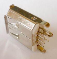 FireWire Stecker Einbaubuchse Steckverbinder gerade Printmon. 180 Grad Lötbuchse