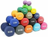 XN8 Neoprene Hex Dumbbells Weight Lifting Training Gym 2.2 Lb-22 Lb Pair Dumbell