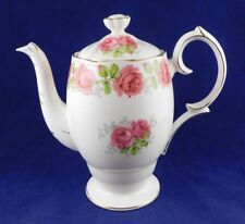 BELL CHINA - Lady Alexander Rose - COFFEE POT WITH LID -