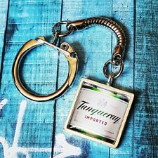 Unique TANQUERAY GIN KEYRING keychain SCOTTISH g&t GIN & TONIC drink PUB bar FAB