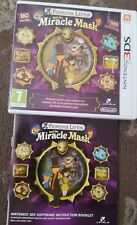 PROFESSOR LAYTON AND THE MIRACLE MASK NINTENDO 3DS GAME