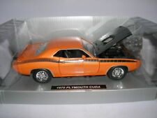 NewRay 1970 Plymouth Cuda orange Muscle Car Collection 1:25 Art. 71873