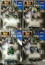 Hotwheels set Batman rare 4 x 3 (figurine+2 voitures)