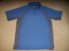 Pre-Owned Under Armour Heat Gear Men'S Blue Golf/Polo Shirt Size Medium