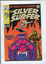 SILVER SURFER #6 (8.5) WORLDS WITHOUT END!