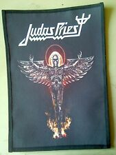 JUDAS PRIEST # 4,SEW ON SUBLIMATED LARGE BACK PATCH