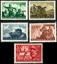 """WW2 Axis HUNGARY""""Hung.Legion in East Front""""full set,MNH"""