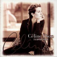 CÉLINE DION - S'IL SUFFISAIT D'AIMER  2 VINYL LP NEW+