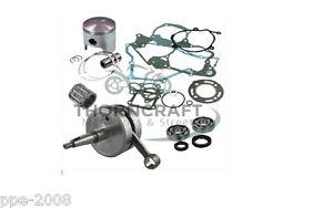 KTM 125 SX 2001 FULL ENGINE REBUILD KIT CRANK PISTON  MAINS GASKET SEAL KTM125SX