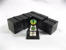 Lot of 50 Lego Custom Minifigures Display Stand Base Plate block