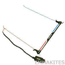 "19"" Dual Line Power Traction Kite Control Bar with Wrist Leash Safety System"