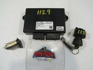 2015 POLARIS 600 SWITCHBACK ADV, ECU COMPUTER CONTROL WITH IGNITION (OPS1129)