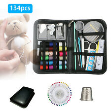 134Pcs Scissors Needle Thread for Home Stitching Hand Sewing Tool Sewing Kit