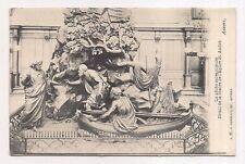 anvers , la pêche miraculeuse , détail de la chaire de l'église st. andré