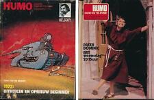 HUMO 1738 (27/12/73) BEJART PATER DOMINIC BOWIE MCCARTNEY RAFFERTY VANONI SLADE