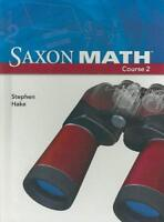 Saxon Math Course 2 (Student Edition) - by Hake