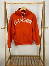 RARE VTG 70s Russell Athletic Clemson University Tigers Hoodie Sweatshirt M USA
