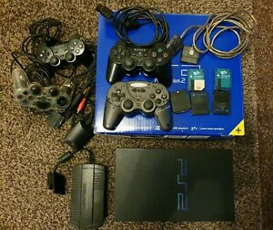 Sony PS2 FAT SCPH-50003 Matrix Infinity Mod Chip + Controllers & Accessories