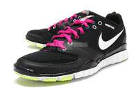 Women's Nike Free Hyper TR - Black/White/Vivid Pink - Size 6