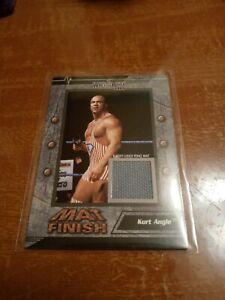 Kurt Angle 2003 FLEER EVENT USED RING MAT FINISH WWE TNA AEW