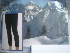 THERMO LEGGING Leggings 100den SCHWARZ warm, isolierend Ski Winter S/M 36/38