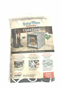 """Quiet Time Defender Series Small 24"""" X 18"""" X 19"""" Dog Crate Cover New Unused"""