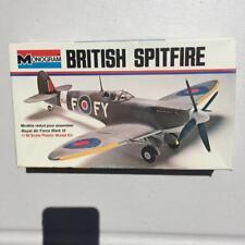 1:48 Military Model Kit British SPITFIRE Monogram Kit  #6801-0109  Made in USA