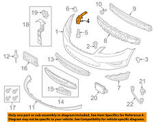 FORD OEM 10-15 Taurus Front Bumper-Side Support Bracket Right AG1Z17C947A