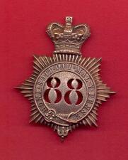 CONNAUGHT RANGERS.88th REGIMENT OF FOOT.SHAKO BADGE