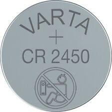 2x CR2450 Lithium Knopfzelle 3V CR 2450 VARTA lose