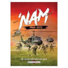 Battlefront 'Nam 1965-1972 The Vietnam War Miniatures Game Hard Cover