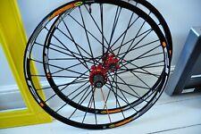 "26"" Wheels Pair Mavic Crossmax SLR 2007 SSC 24H Rims Zicral Tubeless QR Disc"