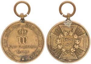 Medaglia Prussia: Dem Siegreichen Heere - Aus Erobertem Cannone 1871 (48153)